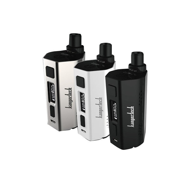Kangertech CUPTI 2-  RX shape, internal tank and external RDA/Tank adapter