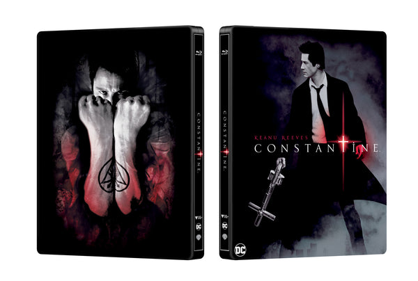 Manta Lab Exclusive #003 Constantine Steelbook Rendering