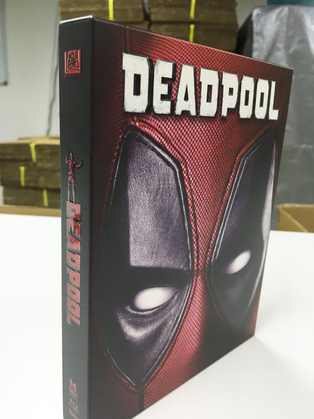 Manta Lab Global Steelbook Deadpool Slips Live pics!