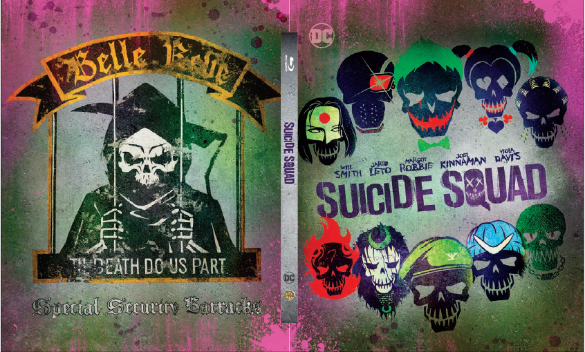 "Announcement for ""Suicide Squad"" MG#006 Steelbook"