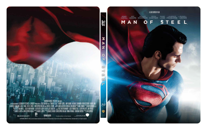 Manta Lab Exclusive Man of Steel steelbook approved