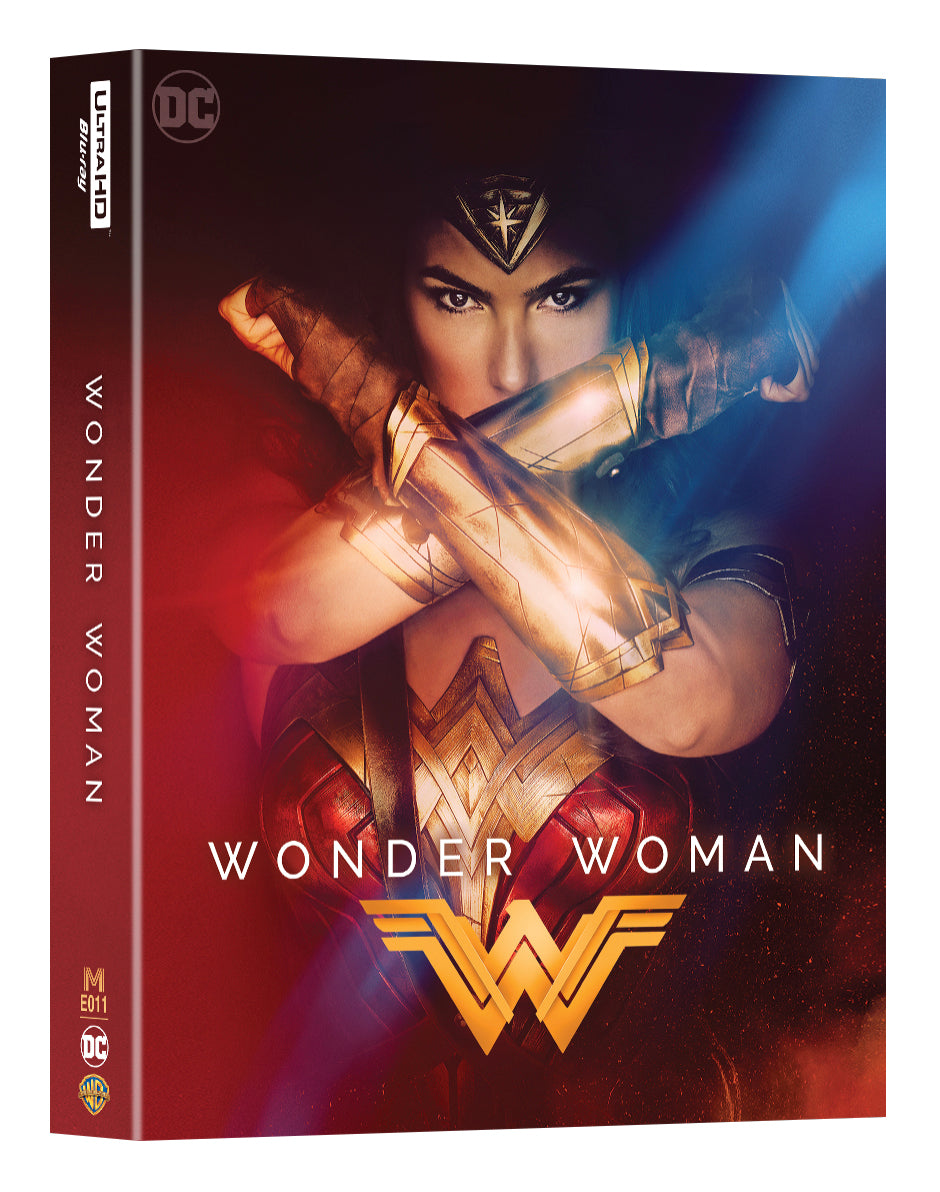 Me 11 Wonder Woman Steelbook Double Lenticular Full Slip 2d 4kuhd