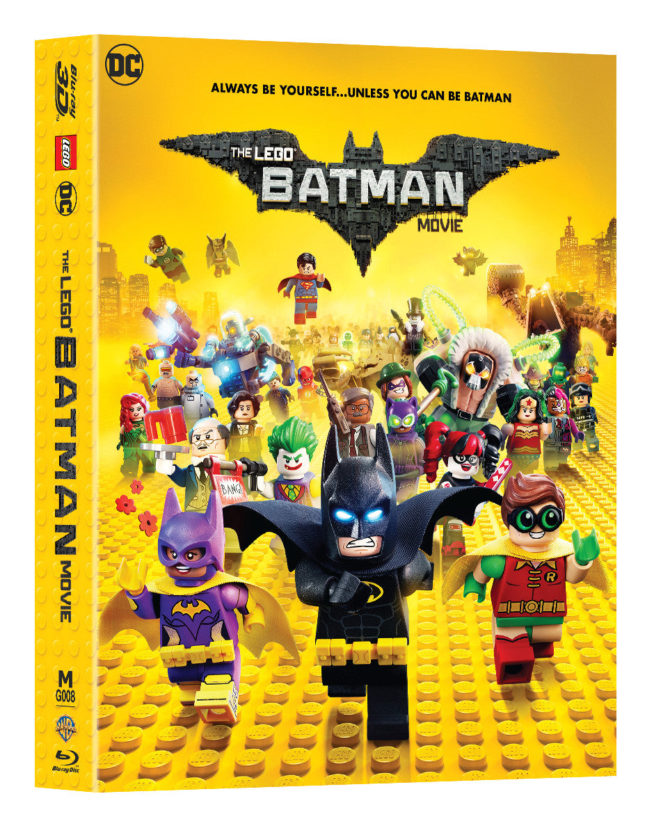 Mg 8 The Lego Batman Movie Steelbook 2d 3d Double Lenticular Full Manta Lab