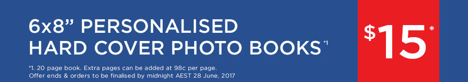 Category Hard Cover Photo Book offer - ends 28.06.17