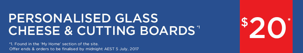 Category Glass Cutting Board offer - ends 5.07.17