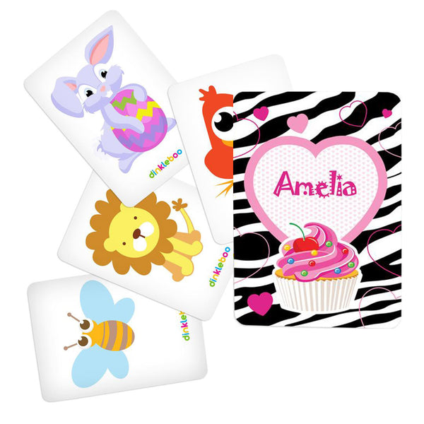 Cupcake Memory Game Animal Pack 2