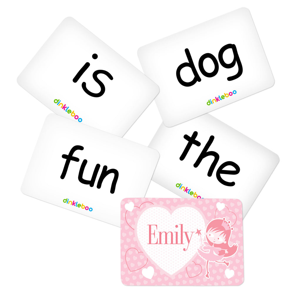 Fairy Memory Game Sight Words Pack 1