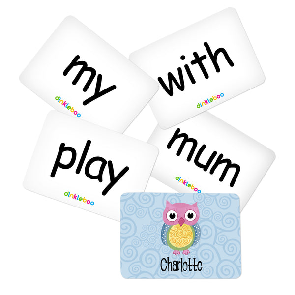 Owl Memory Game Sight Words Pack 2