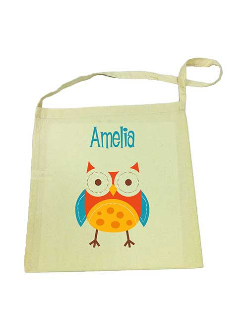 Library Bag - Red Owl