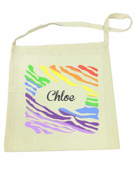 Library Bag - Rainbow