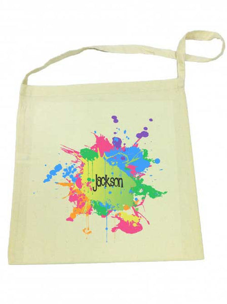 Library Bag - Splatter