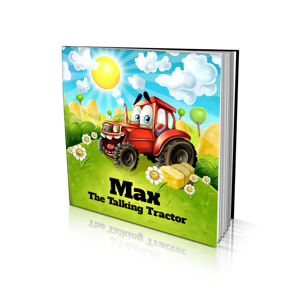 Soft Cover Story Book - The Talking Tractor
