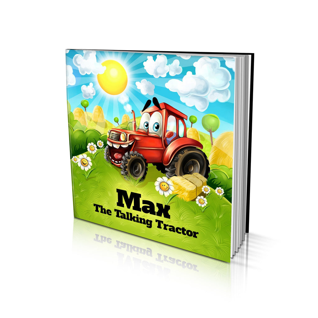 Large Soft Cover Story Book - The Talking Tractor