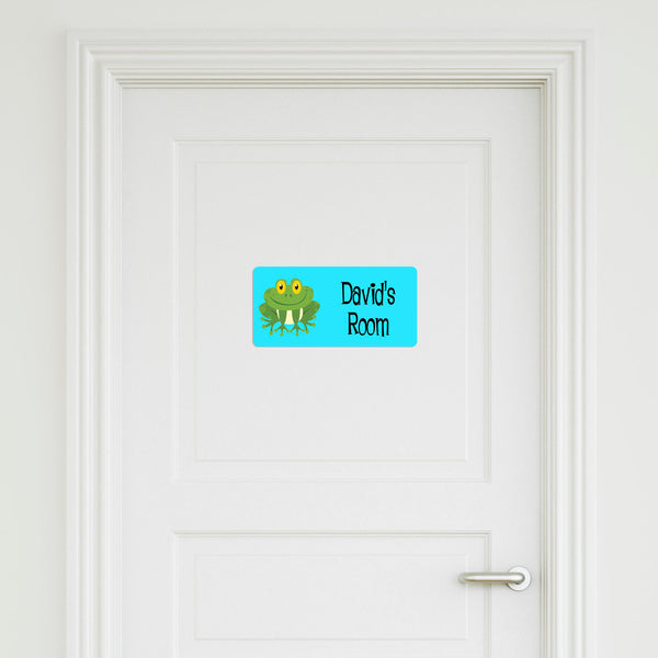 Frog Medium Door Sign