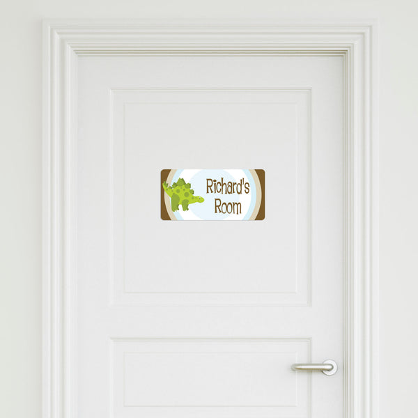 Dinosaur Medium Door Sign