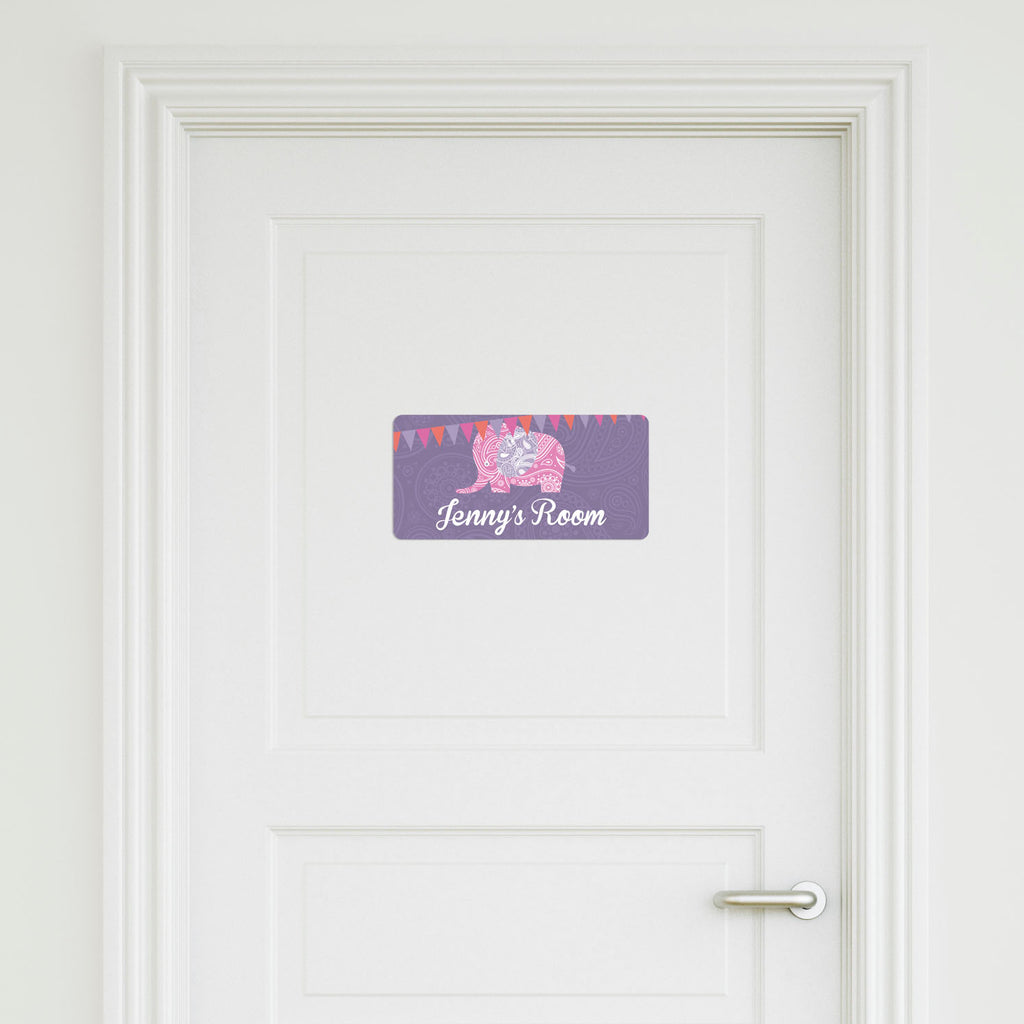Elephant Medium Door Sign
