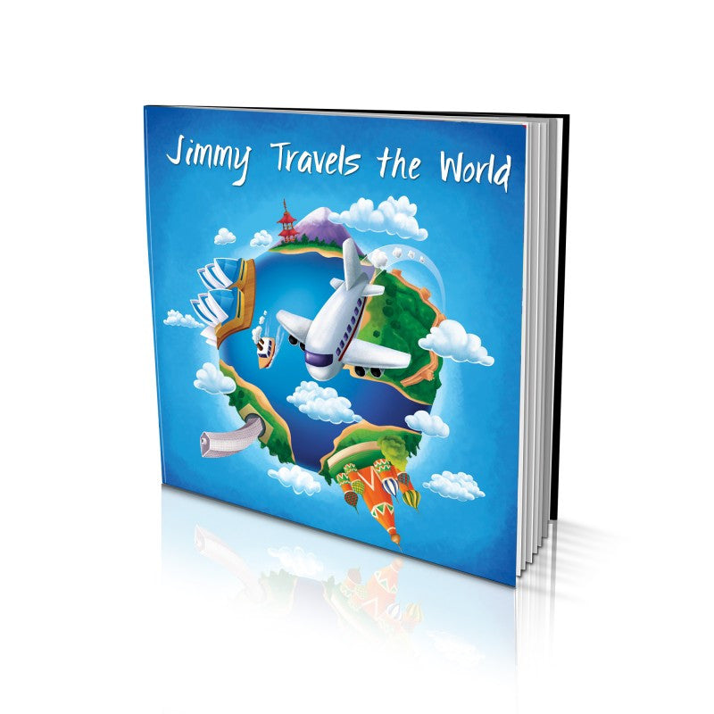 Soft Cover Story Book - Travelling the World