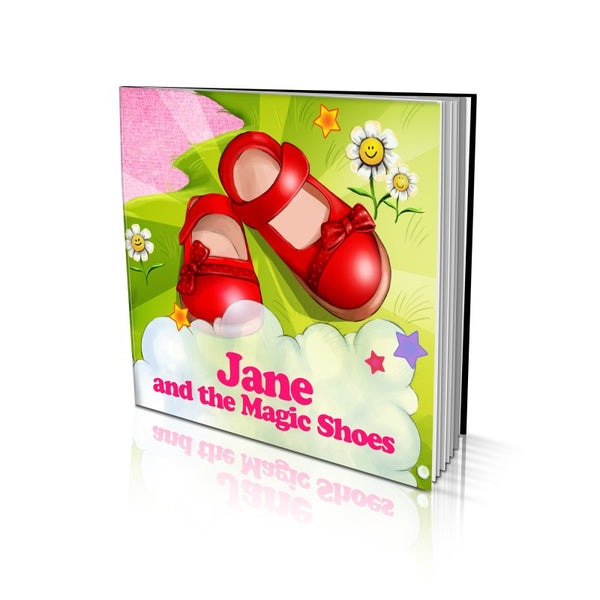 Soft Cover Story Book - The Magic Shoes