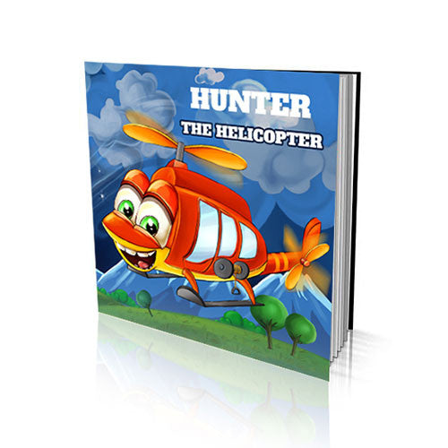 Soft Cover Story Book - The Helicopter