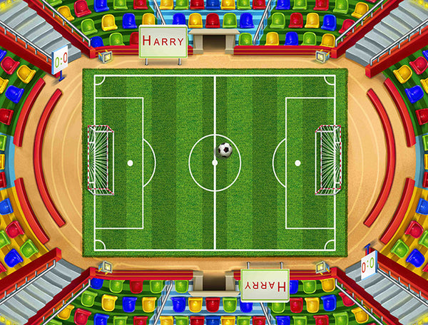 Small Soccer Play Blanket