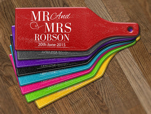Mr & Mrs Glass Cheese Boards