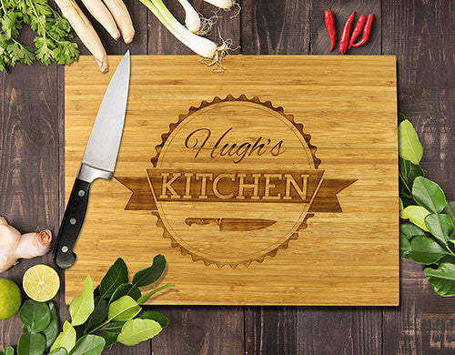 The Kitchen Bamboo Cutting Boards 8x11""