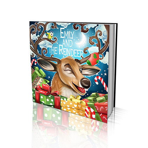 Santa's Reindeer Soft Cover Story Book