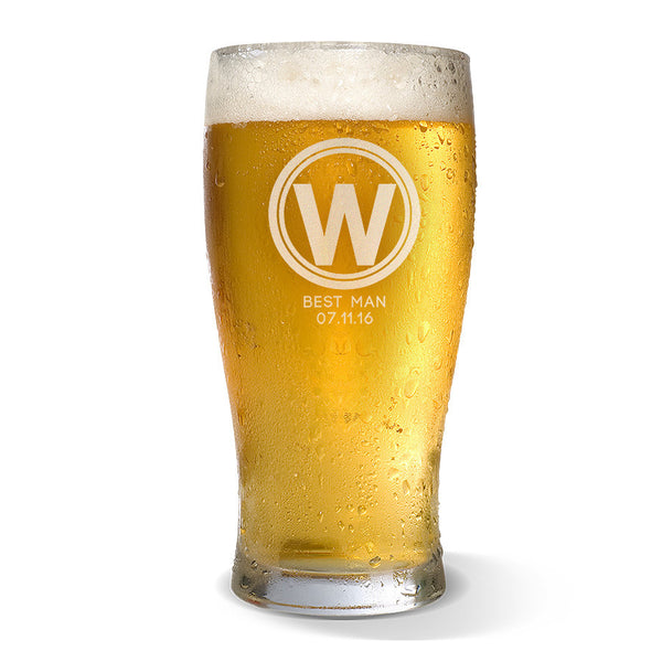 Initial Standard 285ml Beer Glass