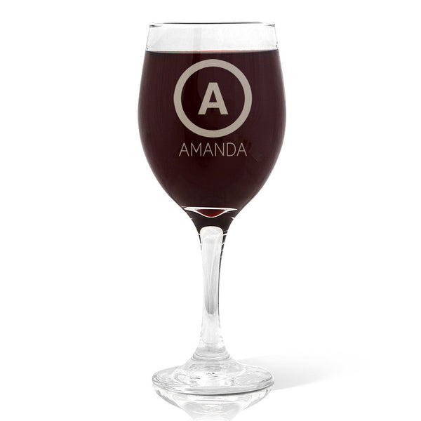 Initial Design Wine 410ml Glass