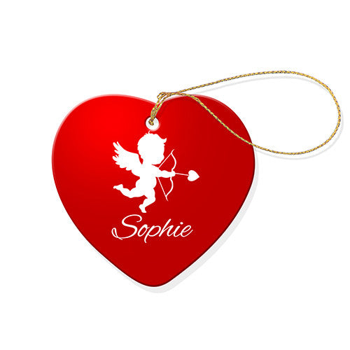 Cupid Heart Decoration
