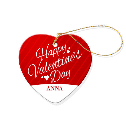 Happy Valentines Heart Decoration