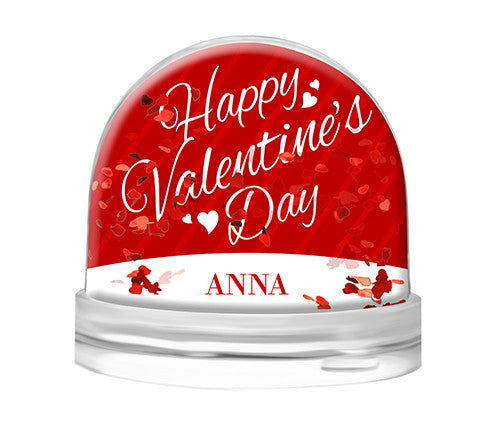 Happy Valentine Heart Globe
