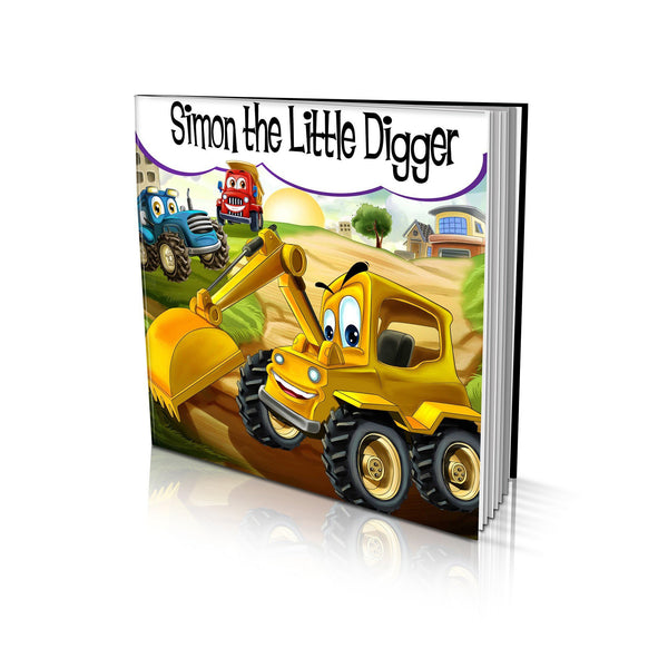 Large Soft Cover Story Book - The Little Digger