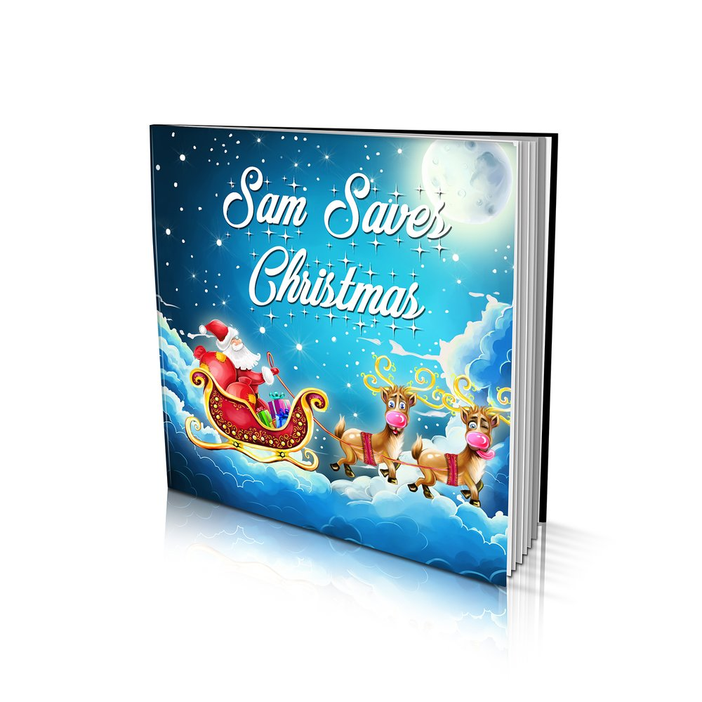Large Soft Cover Story Book - Saving Christmas