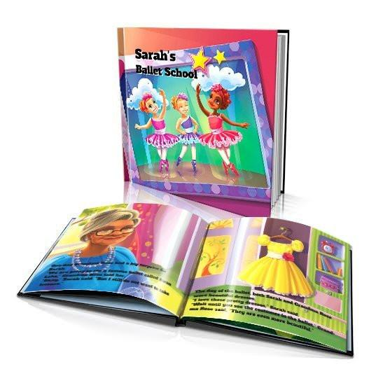 Large Hard Cover Story Book - Ballet School