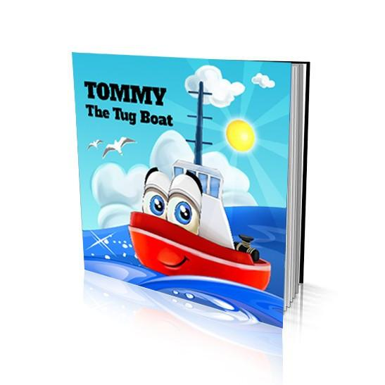 Large Soft Cover Story Book - The Tug Boat