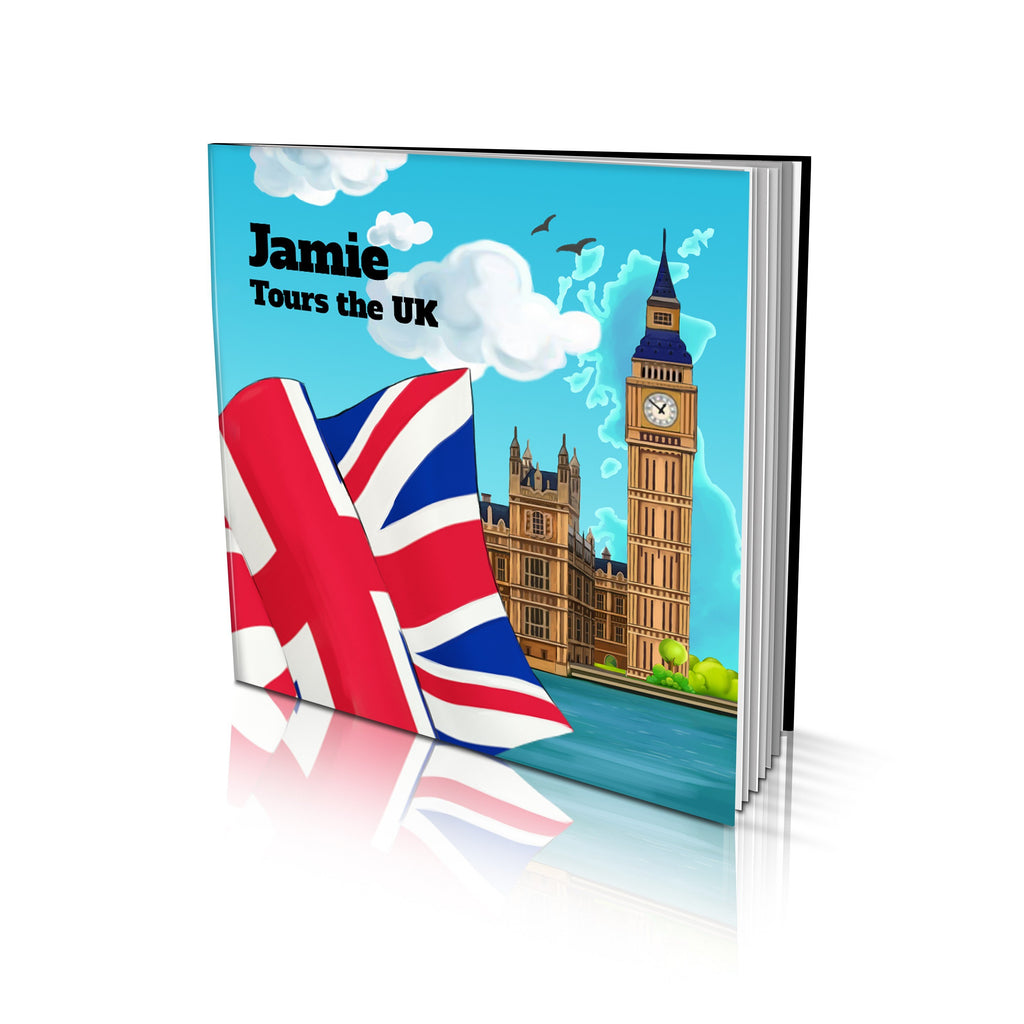 Large Soft Cover Story Book - Tours the UK