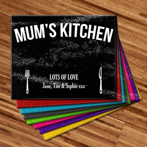 Mum's Kitchen Glass Cutting Board (Temporary Out of Stock)