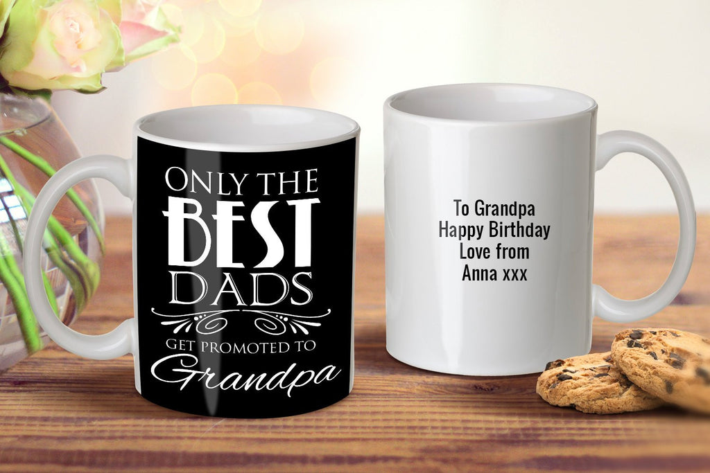 Promoted To Grandpa Mug - Grandpa