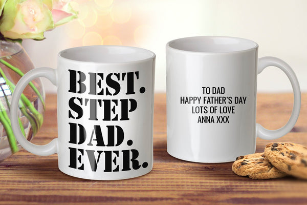Best Step Dad Ever Mug - Father's Day