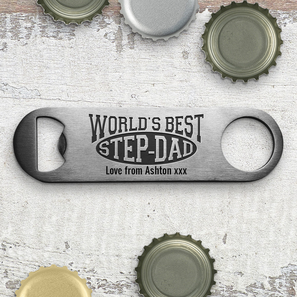 World's Best Step-Dad Bottle Opener
