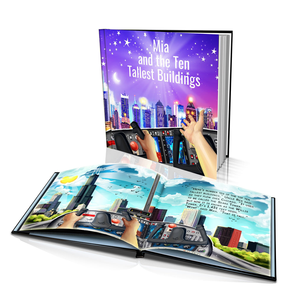 Hard Cover Story Book - Ten Tallest Buildings
