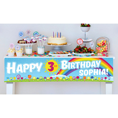 Lollipop Party Banner