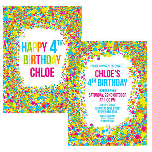 Party Banners & Invitations