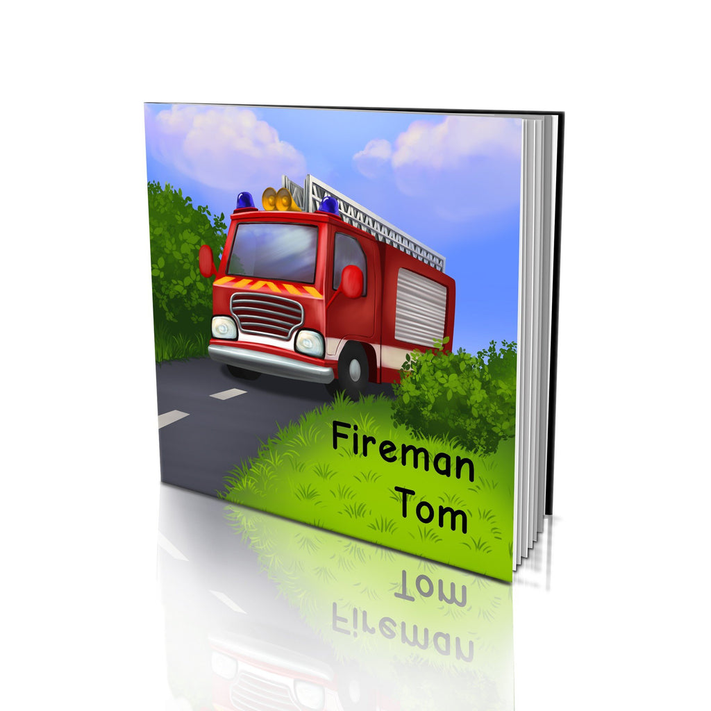 Large Soft Cover Story Book - Fireman
