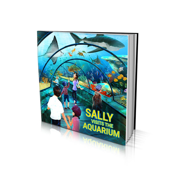 Soft Cover Story Book - Visits the Aquarium
