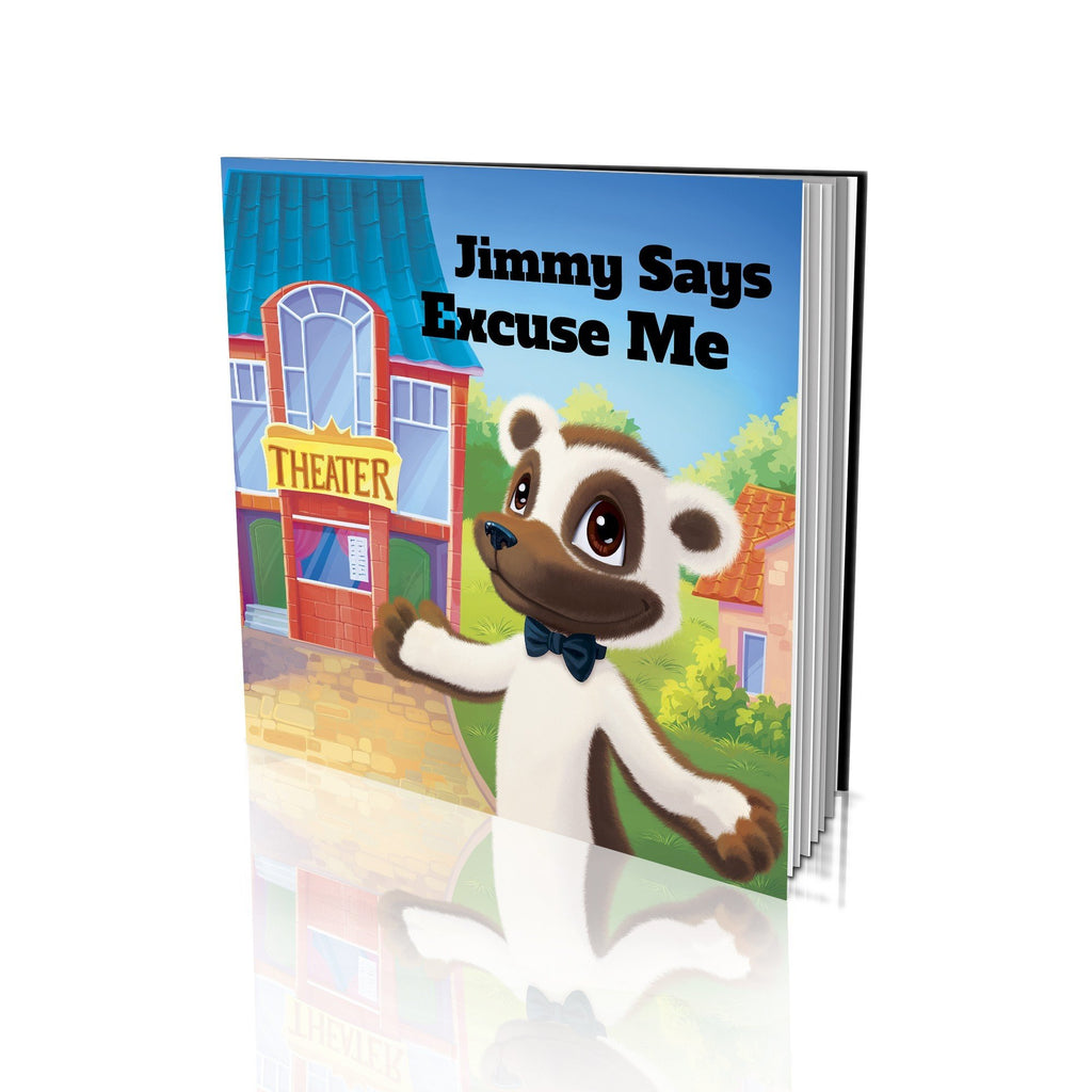 Large Soft Cover Story Book - Says Excuse Me
