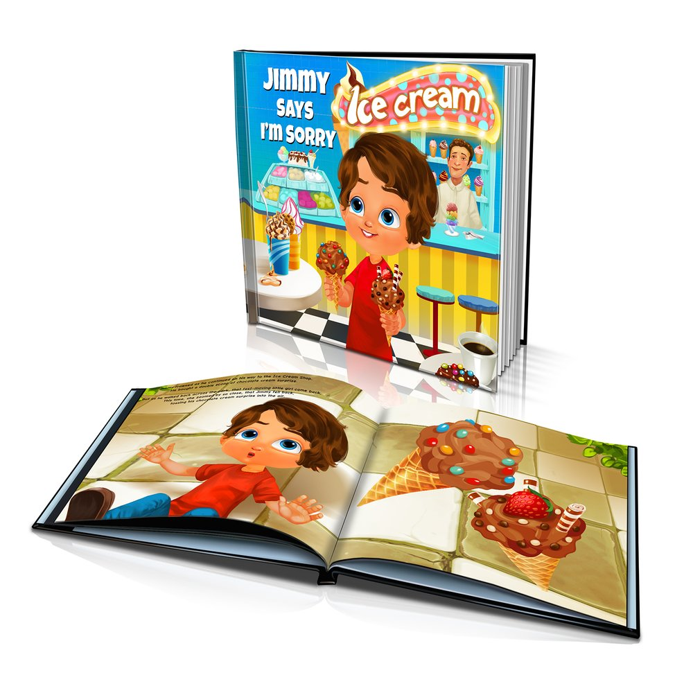 Hard Cover Story Book - Says I'm Sorry