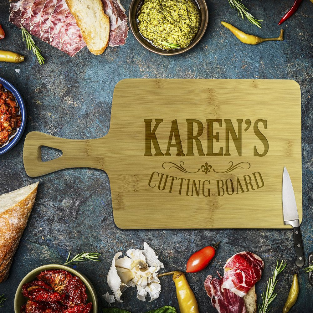 Karen's Cutting Rectangle Bamboo Serving Board