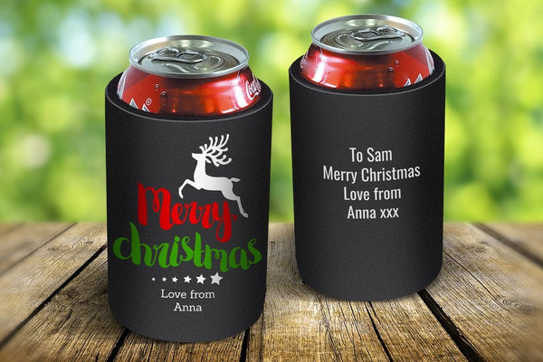 Christmas Stubby Coolers